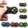 6 Color juego cubo mano mango de ABS de alta calidad 9 función divertido juguete de los niños de descompresión de alivio de estrés