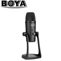 BOYA BY PM700 USB Condenser Microphone with Flexible Polar Pattern for Windows and Mac Computer Recording Interview Conference