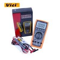VICI VC97 digital multimeter voltmeter AC/DC voltage current Resistance Capacitance frequency Tester multimetro vc97