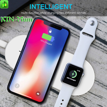 XIN-Mum Fast Wireless Charger Charging Pad Quick Charge for iPhone X iPhone 8/ 8 Plus for Apple Watch 2 3 for Samsung Phones