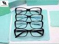 СУПЕР СЕНА моды очки кадр Четыре Листа Клевера женщины алмазный стиль очки рамка ацетата женские полный обод 2091