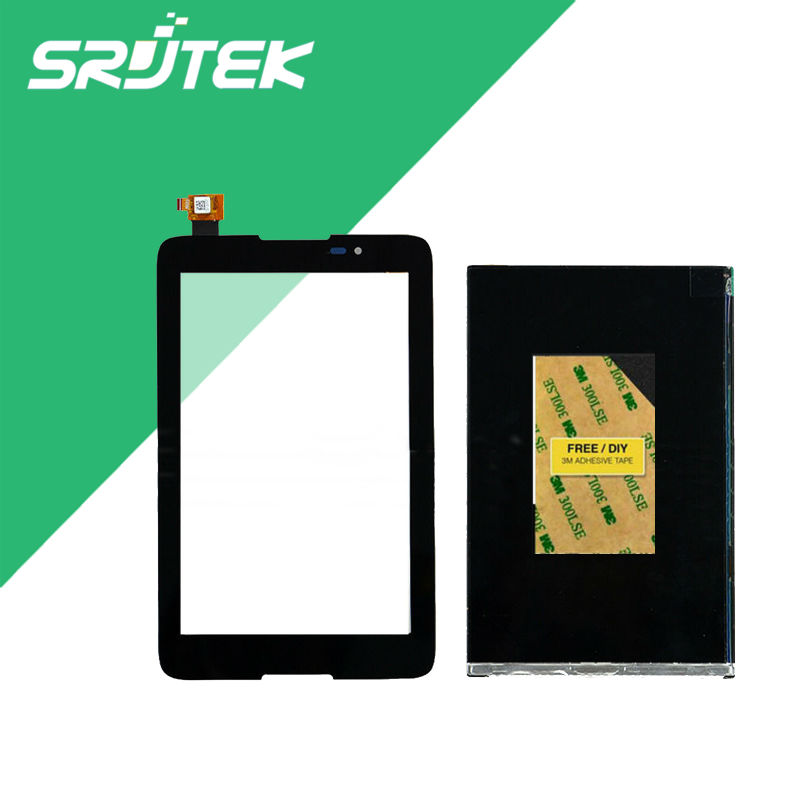 For Lenovo TAB A7-50 A3500 Tablet PC Touch Screen Digitizer Glass +LCD Display Parts for hp slate 7 voicetab tablet pc touch screen digitizer glass parts free tools