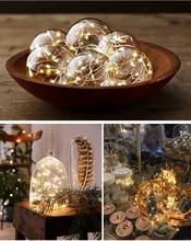 купить Fairy Strip Light Christmas Led String Lights Christmas Light Fairy Garland Battery 2M 5M 10M Cooper Wire Holiday Decoration дешево