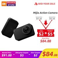 English Version Xiaomi Mijia Mini Action Camera 4K Sport Video Cam Recording WiFi Digital Cameras Bluetooth Ambarella A12S75