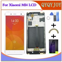 Q Y QYJOY For Xiaomi Mi4 LCD Display Touch Screen Digitizer Tools Set 100 New Assembly