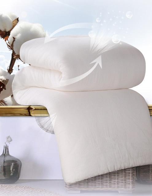 150200 Fresh Long Staple Cotton Thick Comforters Edredon Gauze