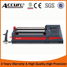 Heavy type plate rolling machine hydraulic metal plate bending machine