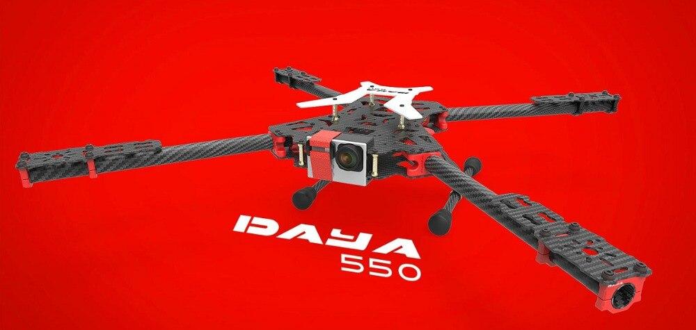 2016 new version DAYA-550 550mm PCB Alien Carbon Fiber Folding 4 Axis FPV Quadcopter Frame Kit
