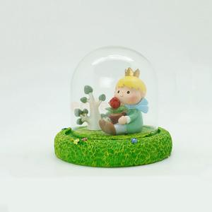 THE LITTLE PRINCE Resin Prince & Rose Home Table Figurine Ornament Statue #1