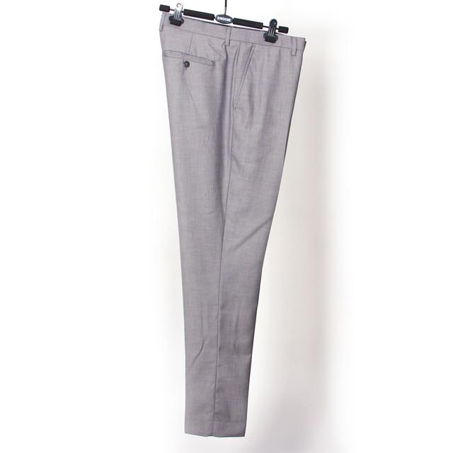 Hombre traje Formal pantalones Slim Fit vestido   de la boda   negocio  Pants Pantalon Hombre. Sitúa el cursor encima para ... b35839737059