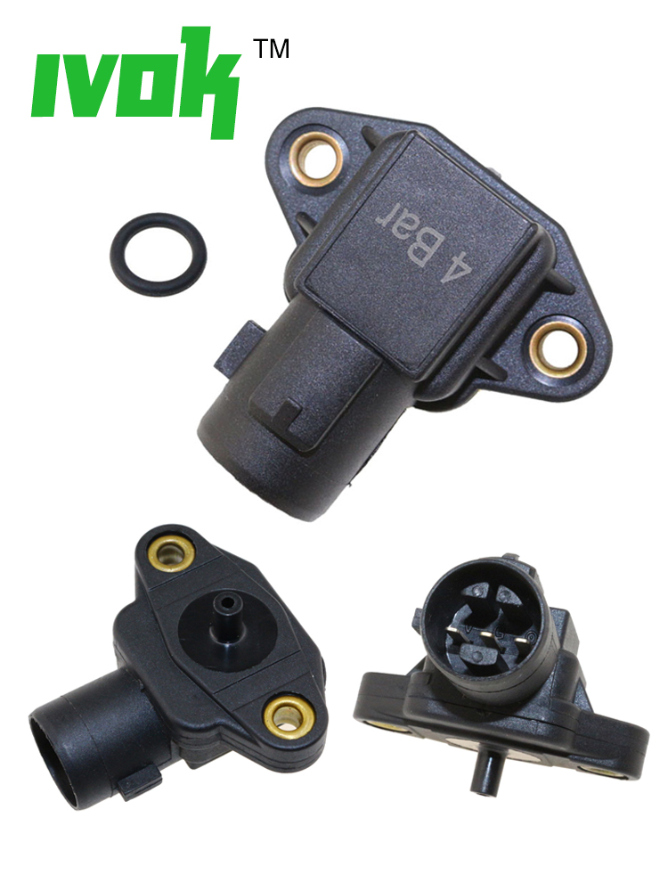 Turbo 4 Bar Map Sensor HONDA ACURA CIVIC INTEGRA ACCORD CRX  44 LB Boost