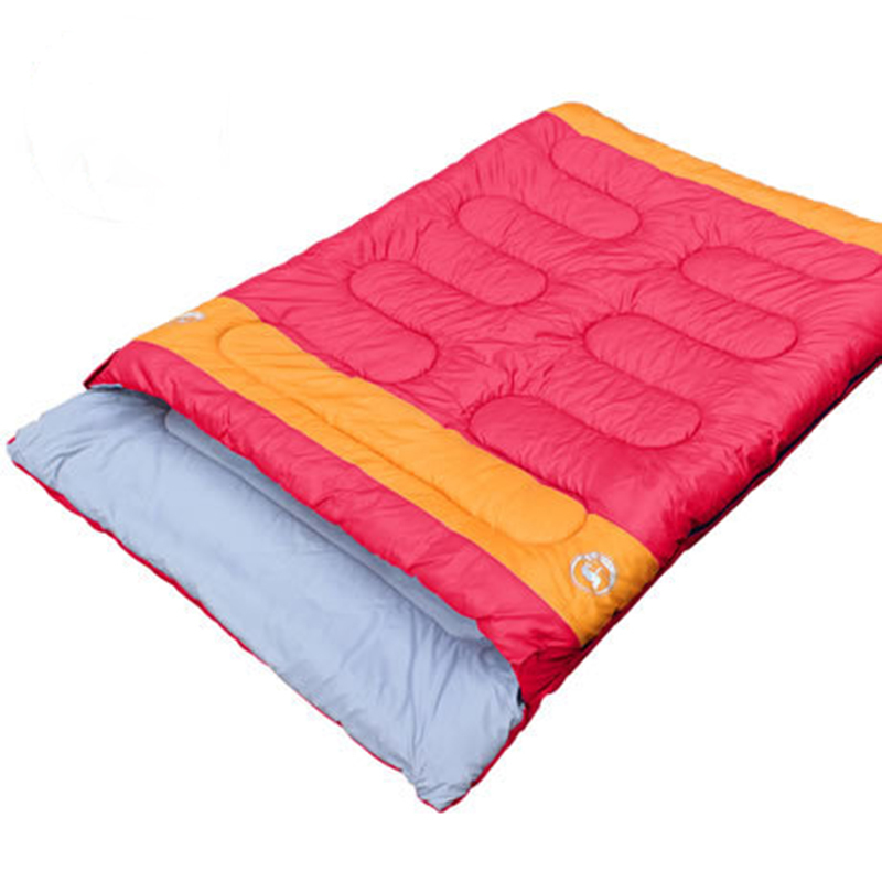 210*150 Cm Double Winter Sleeping Bag Envelope Style Keeping Warm Cotton Outdoor Camping Equipment Hiking Travel Sleeping Bag creeper cr sl 002 outdoor envelope style camping sleeping bag w hood royalblue dark blue