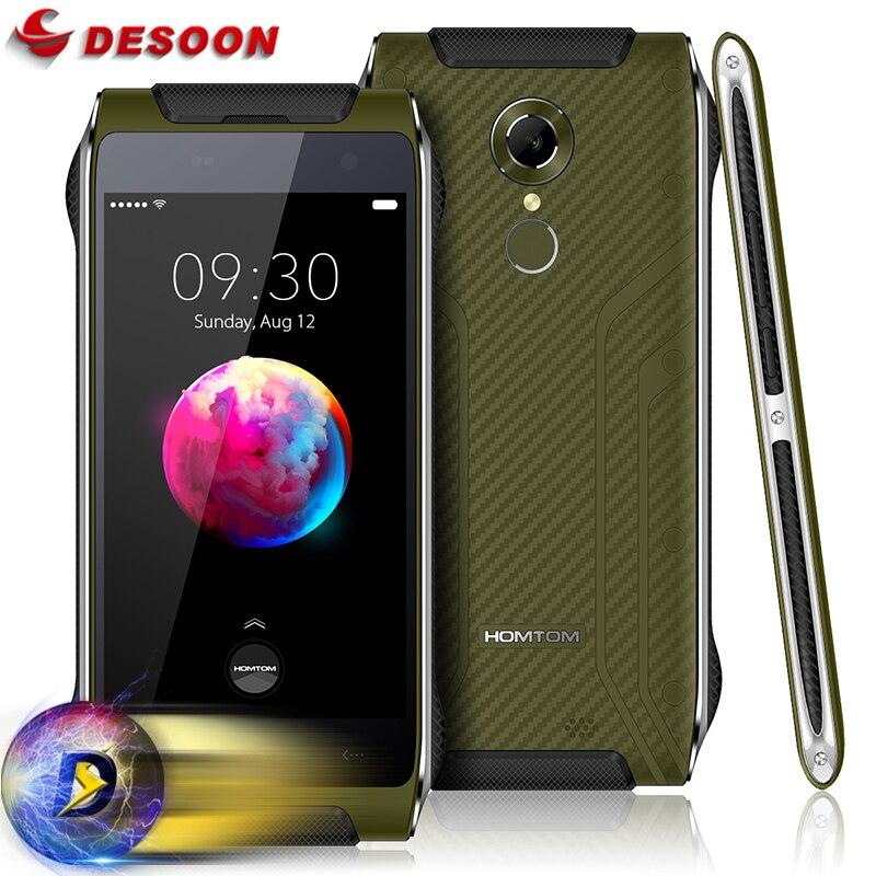 Цена за HOMTOM HT20 pro Водонепроницаемый Смартфон IP68 Android 6.0 MTK6753 Octa Core 3 Г RAM 32 Г ROM 3500 мАч 8MP Отпечатков Пальцев 4 Г Мобильный телефон