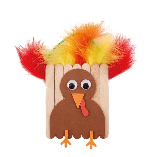 Thanksgiving Diy Crafting Accessories Materials Set Handmade Turkey