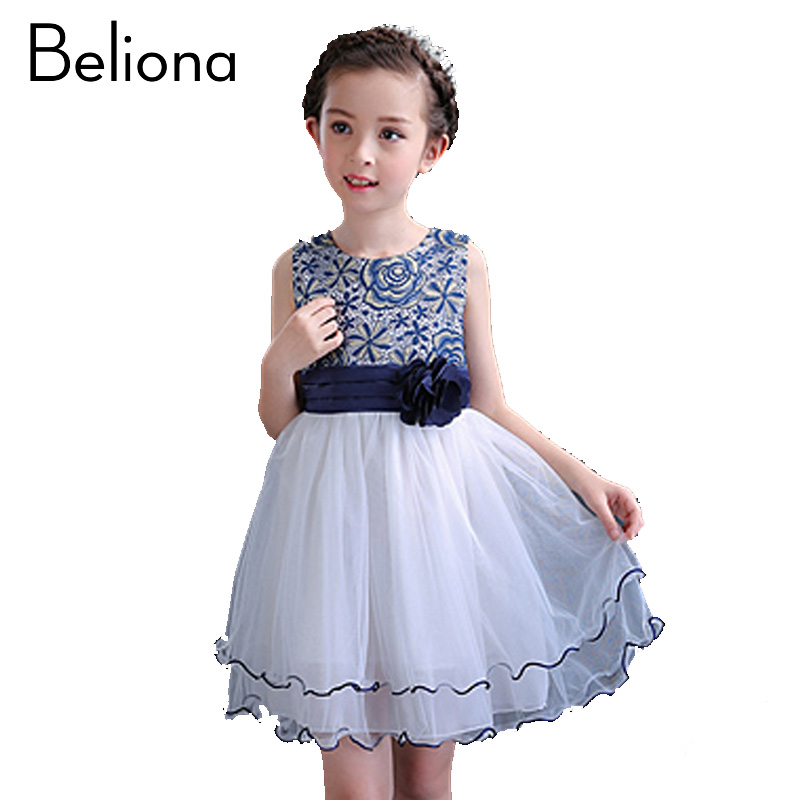 Fashion Lace Mesh Girls Dress Summer Christening Pageant Dress Kids Communion Toddler Gowns Dresses for Party Wedding Clothes vestido handmade christening wedding party pageant dress baby first communion toddler gowns child bridesmaid ballet dress