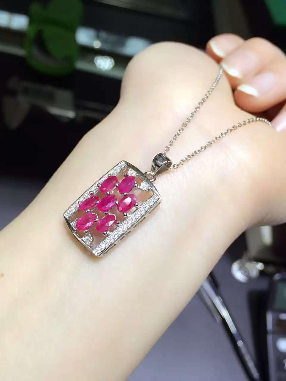 2017 Collier Qi Xuan_Red Stone Fashion Pendant Necklaces_Real Fashion Necklaces_Quality Guaranteed_Manufacturer Directly Sale 2017 collier qi xuan fashion jewelry