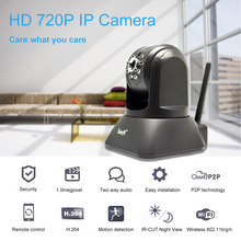 "EasyN 720P Wireless IP Camera 1.0MP 1/4"" CMOS 2.8mm Lens Night Vision Camer Motion Detection P2P cloud function(China)"