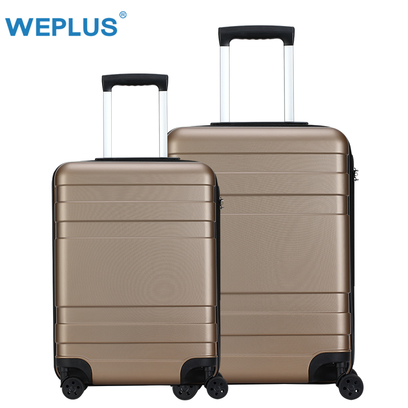 20inch 24inch Caramel color luggage TSA Lock travel Box Hardside luggages Suitcase pc  TSA Lock Trolley Boarding Spinner Wheel