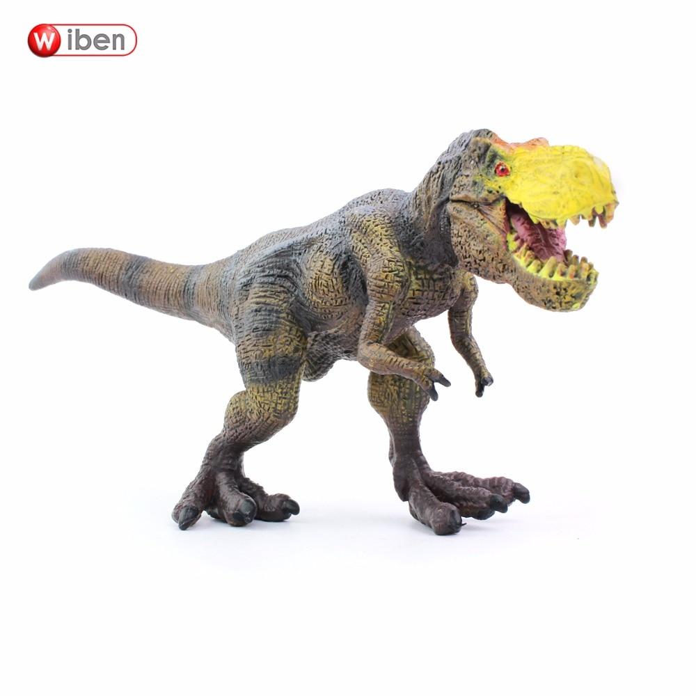 Wiben Jurassic Tyrannosaurus Rex T-Rex  Dinosaur Toys  Action Figure Animal Model Collection Learning & Educational Kids Gift лего кубики lego 75918 tyrannosaurus rex