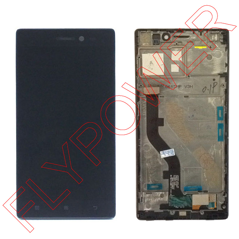 For lenovo Vibe X2 X2-T0 Lcd Display Touch Screen Digitizer + Frame Assembly black by free shipping vibe x2 lcd display touch screen panel with frame digitizer accessories for lenovo vibe x2 smartphone white free shipping track