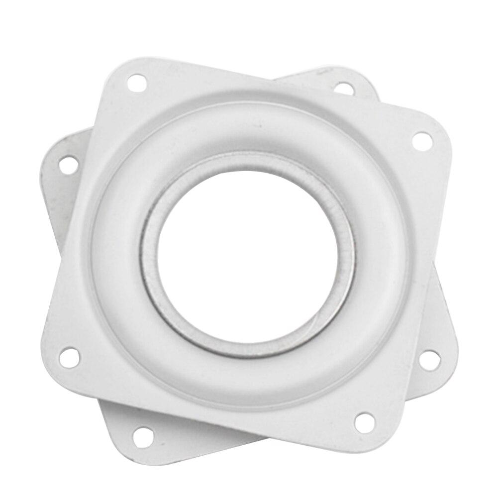 3 Zoll Hardware Passend Hause 360 Grad Für Esstisch Platz Display-ständer Plattenspieler Weiß Eisen Platten Möbel Swivel Platten Möbel Hardware