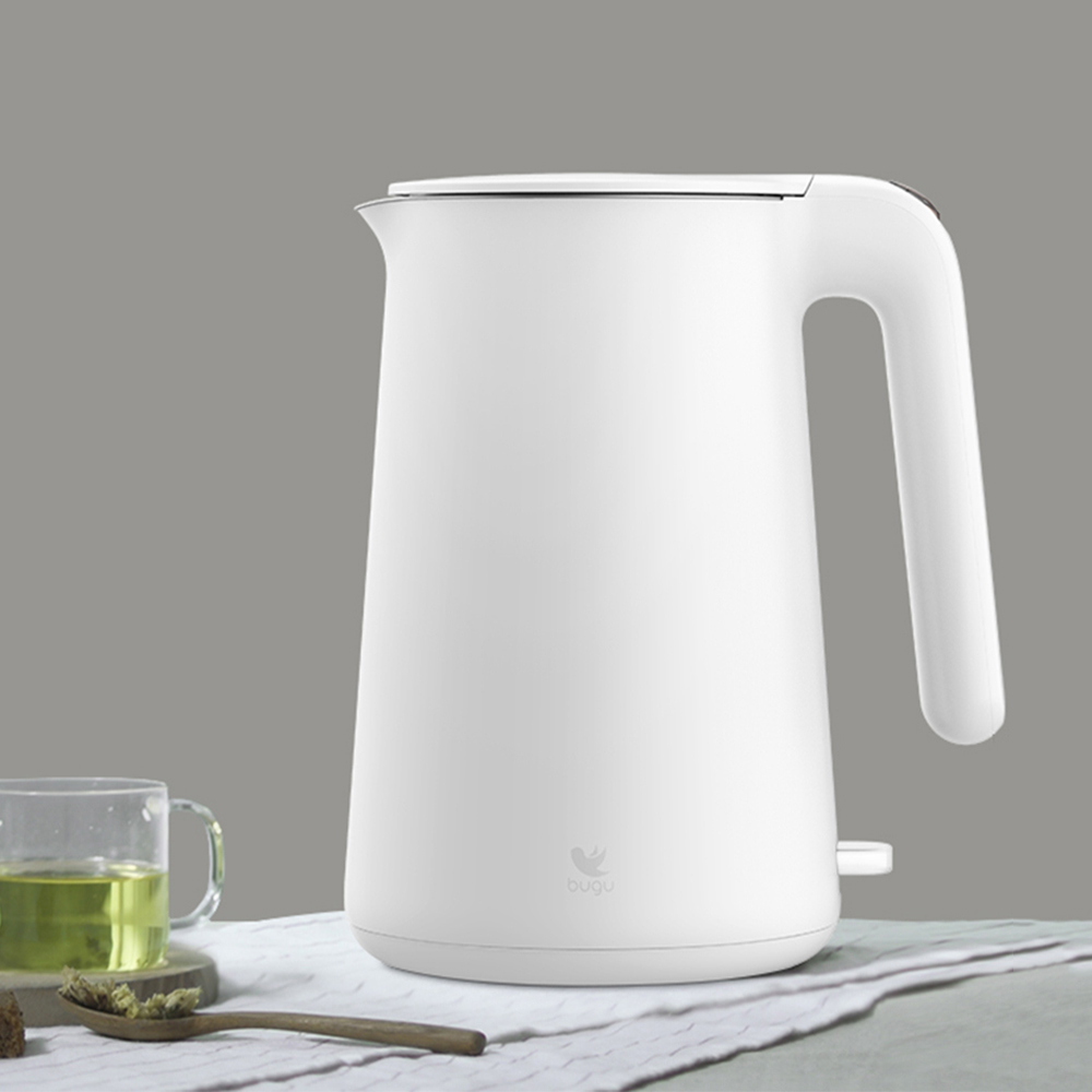 2019 New BUGU Electric Kettle Household Office Fast Water Boiler 1500ml Automatic Power Off  Water Kettle