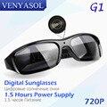 VENYASOL HD 720 P Цифровые Очки Камера черный Поляризованных Скрытые Объектив для Открытый Действие Спорт Видеокамера Мини Шпион очки Камера