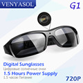 VENYASOL HD 720P Digital Sunglasses Camera black Polarized Hidden Lens for Outdoor Action Sport Video Mini Spy glasses Camera