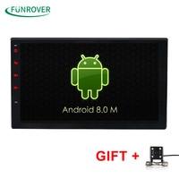 2G 16G Universal 2 Din Android 6 0 Car DVD Player GPS Wifi Bluetooth Radio Quad
