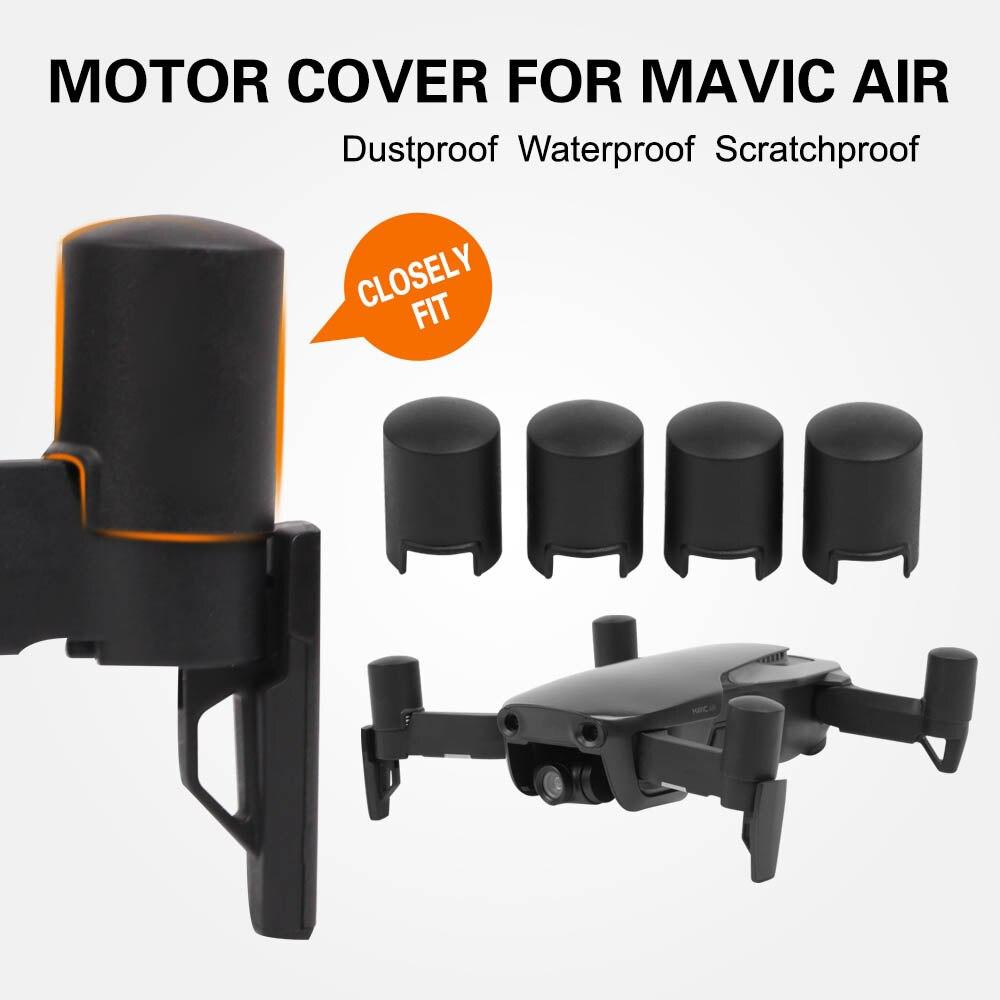 Мотор Кепки Защитная крышка пыле Водонепроницаемый царапинам для DJI Мавик AIR