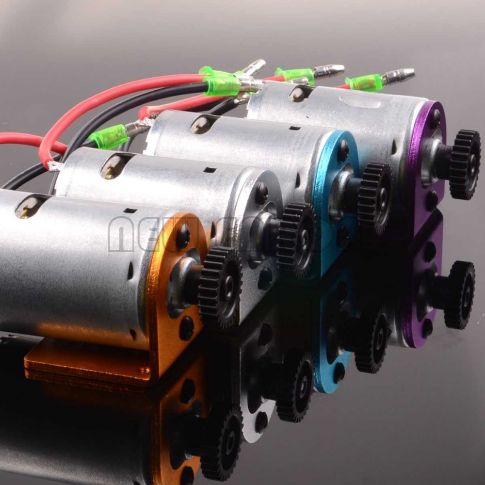 540 Motor & 27T Motor Gear & Aluminum Motor Mount For WLtoys 1/18 A959 A969 A979 RC CAR wltoys a959 b 13 540 motor 1 18 a959 b a969 b a979 b rc car part