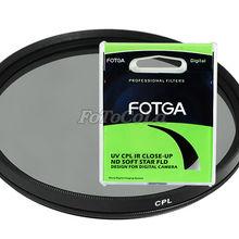 Круговой поляризационный фильтр FOTGA 72 мм