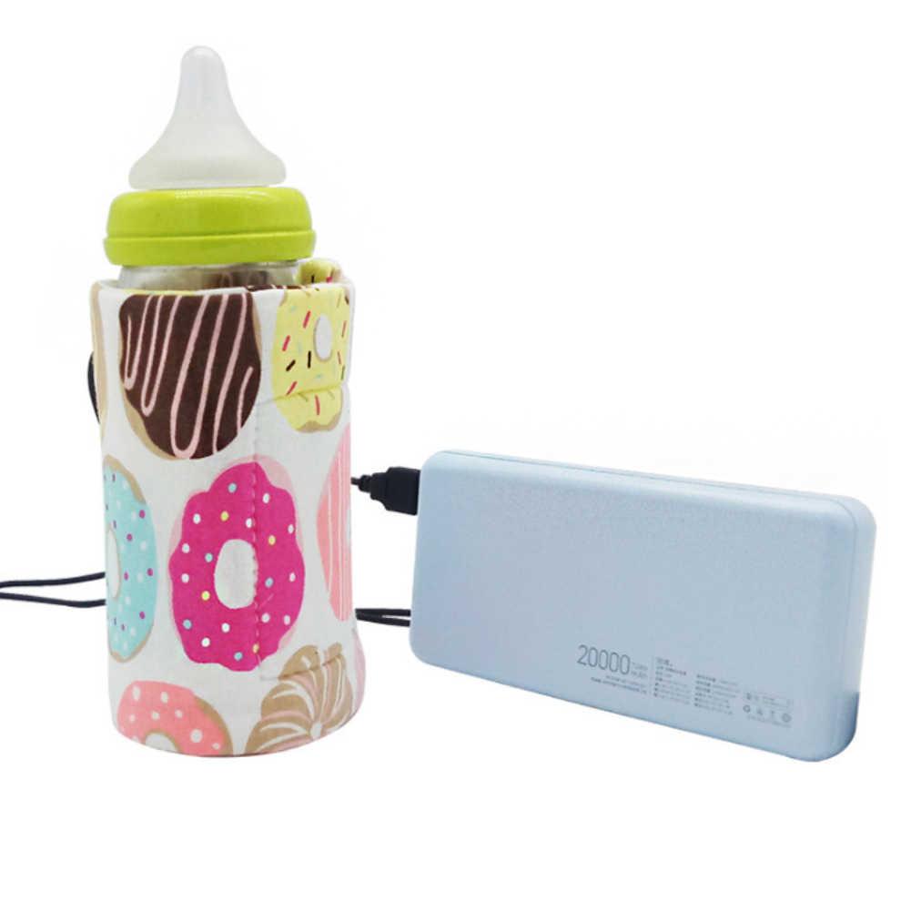 New Portable USB Baby Milk Bottle Warmer Heater Coffee Tea Mug Beverage Warming Bag