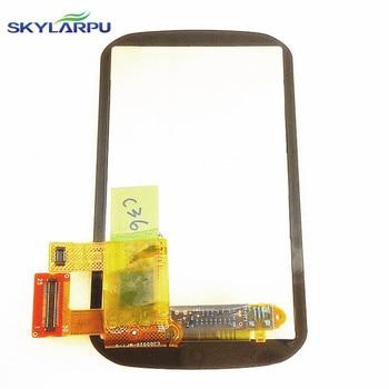 "Skylarpu 3.0 ""インチの液晶画面ガーミンエッジ 1000 自転車の gps LCD ディスプレイ画面のタッチスクリーンデジタイザの修理交換 -"