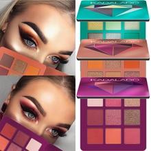 KADALADO 9 Color Eye Make Up Glitter & Matte Eyeshadow Palette Lasting Nude Shimmer Makeup Shadow for eyes Beauty Cosmetic