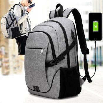 NEW Men Multifunction USB Charging Laptop Backpack Unisex Travel Casual Notebook Shoulder Bags for Teenager School Bag Rucksack