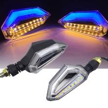 LED Motorcycle Turn Signal Lights 12V Indicator Moto Clignotant Blinker DRL Lamp FOR VESPA STICKERS VESPA SPRINT VESPA PX