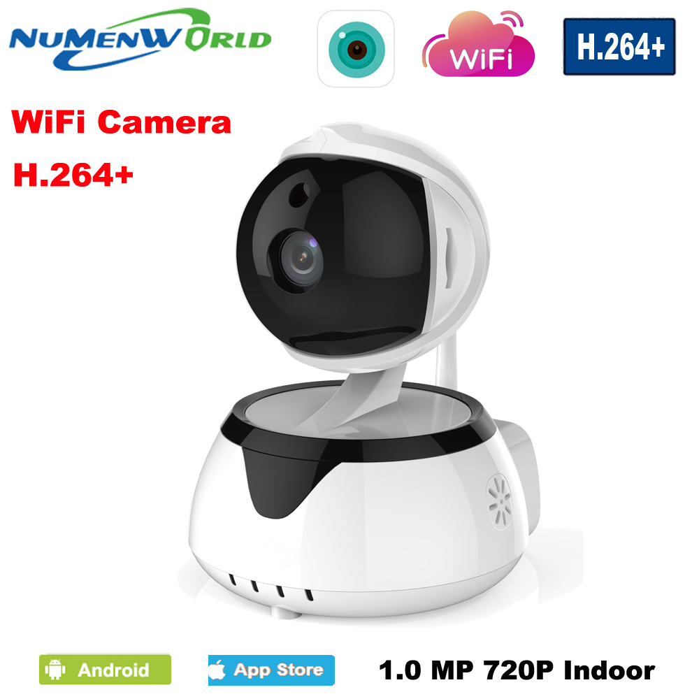 Numenworld дома Камера HD 720 P Беспроводной IP Камера WI-FI Ночное видение Камера IP-сети Камера CCTV WI-FI P2P двухстороннее аудио H.264 +