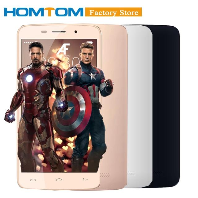 """Оригинальный Doogee HOMTOM HT17 Pro смартфон 4 г Android 6.0 4 ядра MTK6737 5.5 """"Экран двойной камеры смарт Услуга жест мобильного телефона"""