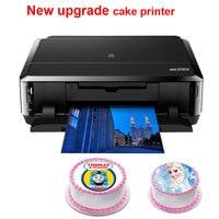 Цифровой торт принтера для Canon IP7260 или MG5660 lollipop шоколад Еда рисовой бумаги принтера