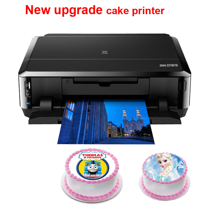 OYfame Digital Cake Printer  For Canon Ip7260 Or MG5660  Lollipop Chocolate Food Rice Paper Printer