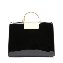 Fashion Patent Leather Women Tote Bag Luxury Handbags Women Bags Designer Handbags High Quality Shoulder Bag