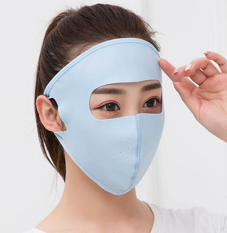 Men Women's Spring Summer Sunscreen Mask Lady's PM 2.5 Breathable Summer Hollow Out Mouth-muffle R1512