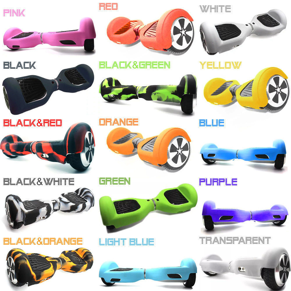 2016 font b Hoverboard b font Silicone Case Cover Shell Waterproof Protector for Mini 6 5