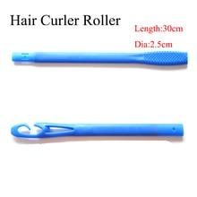 18 stuks / partij 30cm lang plastic haarroller lang Magic hair curler nieuwe magische roller hair curler stijl met een diameter van 2,5 cm