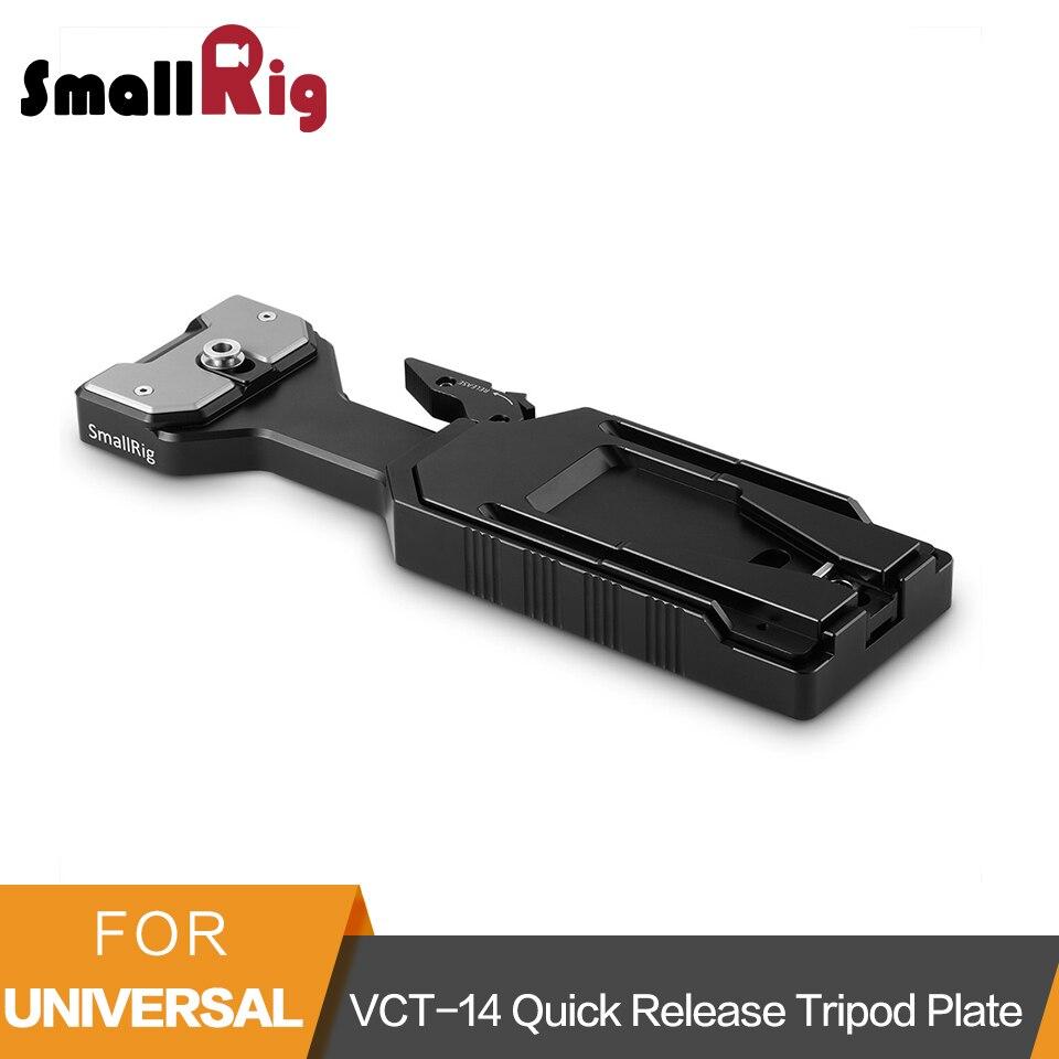 Smallrig VCT-14 Treppiedi Piastra A Sgancio Rapido Per Sony FS5/FS7/Blackmagic Ursa mini Spalla Piastra di Supporto-2169