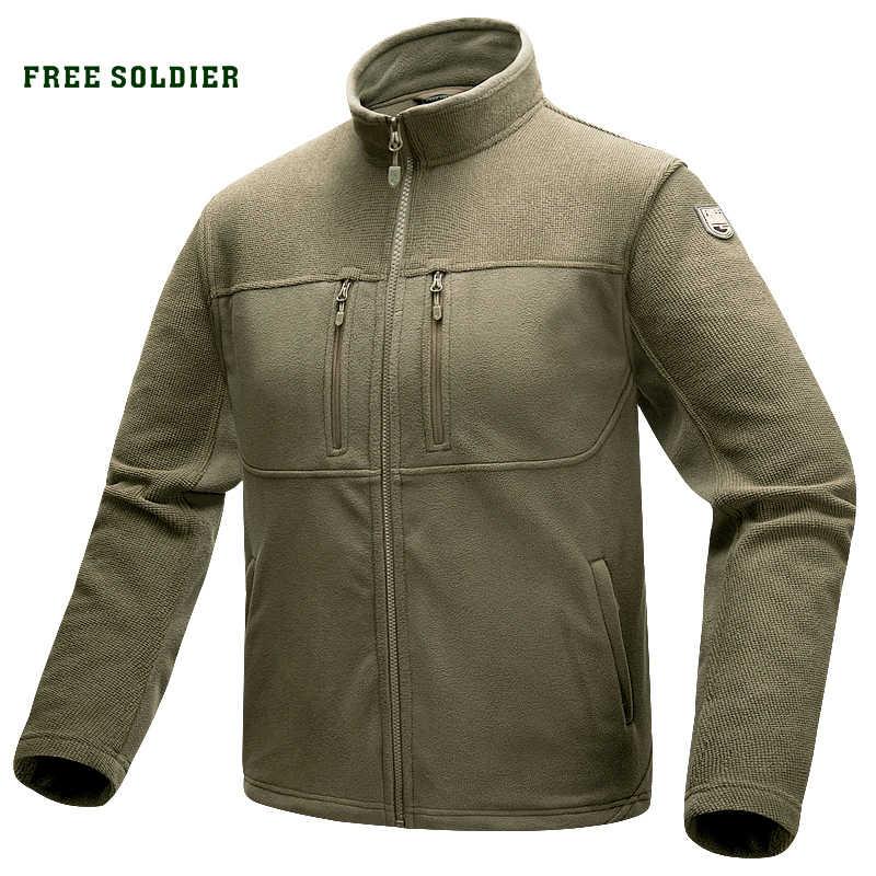 を無料の兵士屋外スポーツチミリタリーキャンプハイキング戦術軍事男性のジャケットぬくもりコートクライミング用