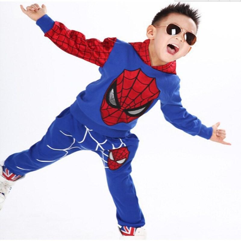2016 Αγόρια Φθινόπωρο σορτς Spiderman 2τμς / - Παιδικά ενδύματα - Φωτογραφία 4