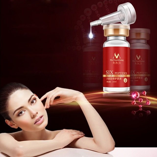 New Arrival 10ml Argireline Aloe Vera Collagen Peptides Rejuvenation Anti Wrinkle Serum For The Face Skin Care Pproducts Anti L9 Face Care Serum