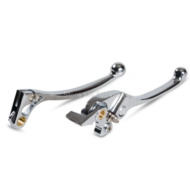 1 Pair Motorcycles Supplies Chrome Brake Clutch Levers For Honda Shadow 750 1100 1998-2010 VTX 1300 03 04-10 Motorbike Brakes 1 pair motorcycles supplies chrome brake clutch levers for honda shadow 750 1100 1998 2010 vtx 1300 03 04 10 motorbike brakes